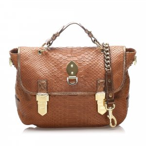 Mulberry Tillie Embossed Leather Satchel