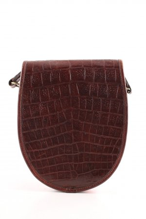 Mulberry Crossbody bag brown allover print casual look