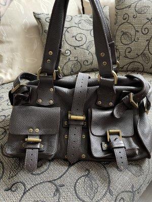 Mulberry Handbag dark brown leather