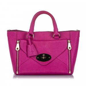 Mulberry Willow Leather Satchel