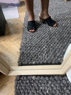 Bellucci Sandały na obcasie czarny-jasnobeżowy