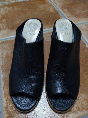 Vince Camuto Sandalias con tacón negro-marrón claro Cuero