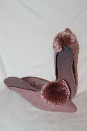 H&M Sabots dusky pink
