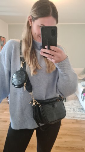Zara Enveloptas zwart-goud