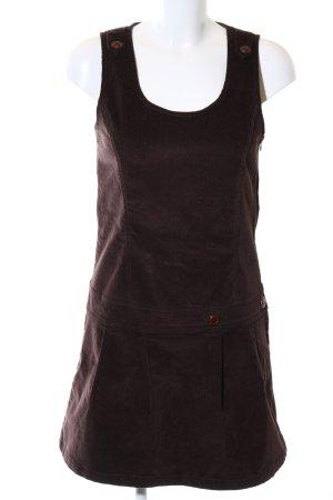 Multiblu A-Linien Kleid braun Casual-Look