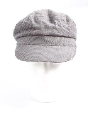Multiblu Baker's Boy Cap light grey casual look