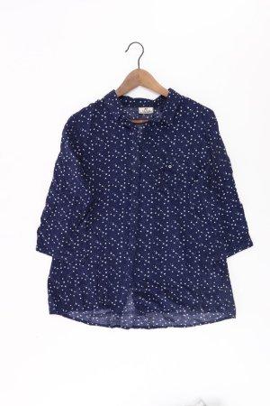 Multiblu Bluse Größe 40 3/4 Ärmel blau aus Viskose