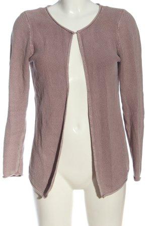 Multiblu Cardigan pink Zopfmuster Casual-Look