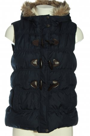Multiblu Down Vest blue quilting pattern casual look