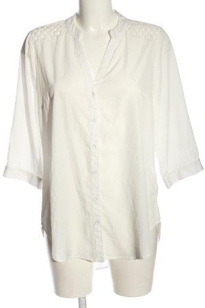 Multiblu Hemd-Bluse wollweiß Casual-Look