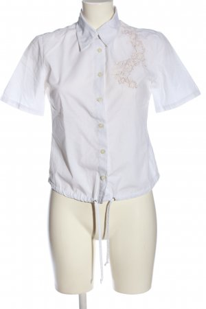 Multiblu Hemd-Bluse weiß Casual-Look