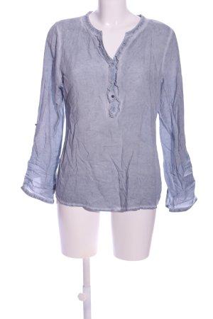 Multiblu Hemd-Bluse blau Casual-Look