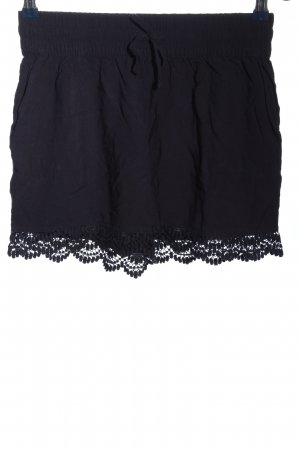 Multiblu Pantaloncino a vita alta blu stile casual