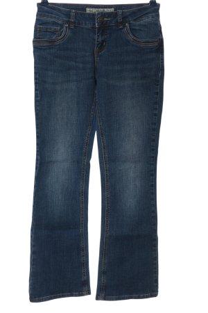Multiblu Jeansschlaghose blau Casual-Look