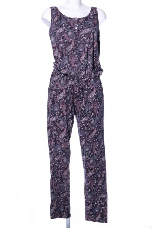 Multiblu Jumpsuit lila Allover-Druck Casual-Look