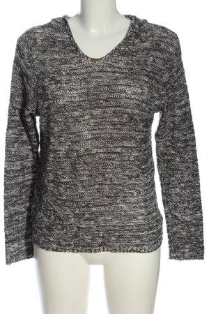 Multiblu Sweter z kapturem Melanżowy W stylu casual