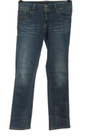Multiblu Jeansy z prostymi nogawkami niebieski W stylu casual