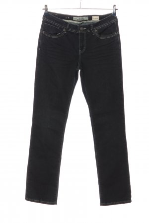 Multiblu Straight-Leg Jeans schwarz Casual-Look