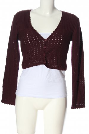 Multiblu Knitted Bolero red casual look