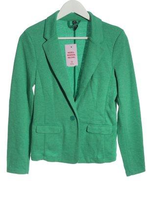 Multiblu Sweat Blazer green flecked casual look