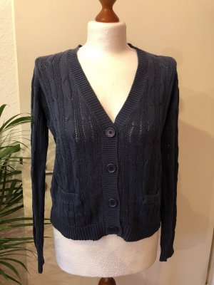 Multiblu Zopfstrick Strickjacke Casual