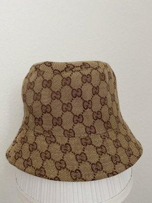 Bucket Hat bronze-colored-black brown