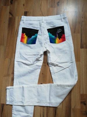multicolor jeans