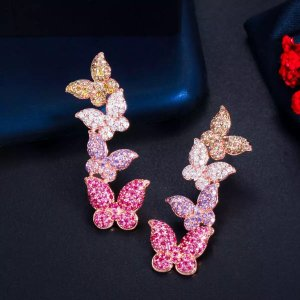 Pessina-Jewelry Gold Earring multicolored