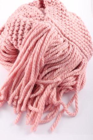 MUMS Gehaakte sjaal roze casual uitstraling