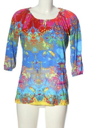 munich freedom Batik Shirt abstract pattern casual look