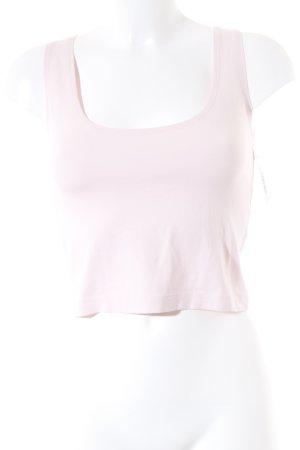 munich freedom Cropped Shirt rosé schlichter Stil