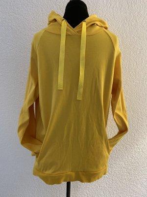 munich freedom Capuchon sweater geel Katoen