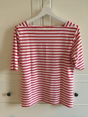 munich freedom Koszulka w paski czerwony-biały Modal