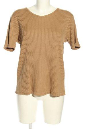 munich freedom Ribbed Shirt light orange casual look