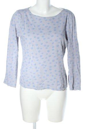 munich freedom Sweatshirt hellgrau-blau meliert Casual-Look