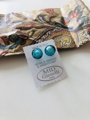 Murano Glas Oorstekers veelkleurig