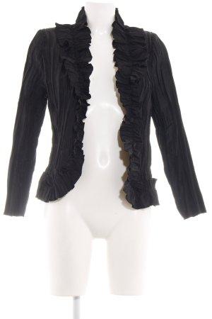 Murek Fashion Veste chemisier noir élégant
