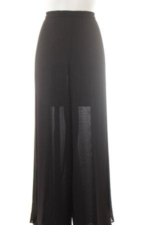 Murek Fashion Stoffhose schwarz Elegant