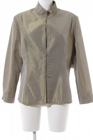 Murek Fashion Übergangsjacke goldfarben-silberfarben Mustermix