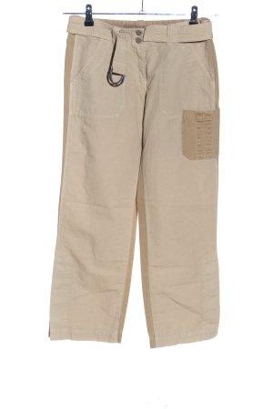 Murphy & nye Pantalone a 7/8 bianco sporco stile casual