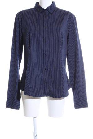 Murphy & nye Hemd-Bluse blau Streifenmuster Business-Look