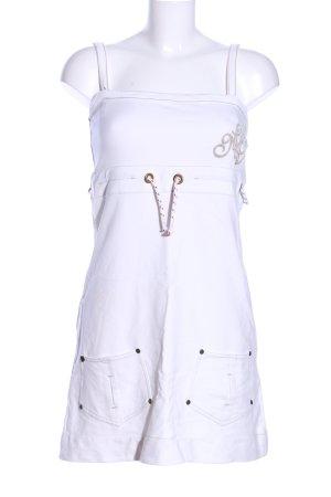 Murphy & nye Sukienka z dekoltem typu halter biały W stylu casual