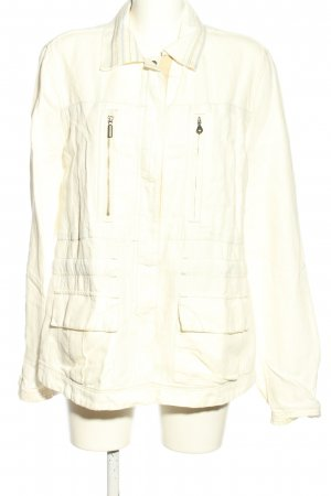 Murphy & nye Ripstop Jacket cream casual look