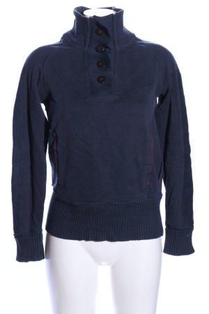 Murphy & nye Maglione dolcevita blu stile casual