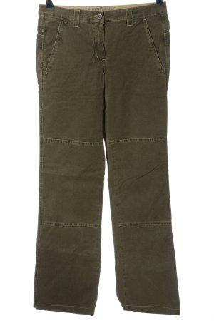 Murphy & nye Jeans a gamba dritta cachi Stampa a tema stile casual