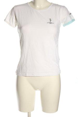 Murphy & nye T-shirt caratteri stampati stile casual