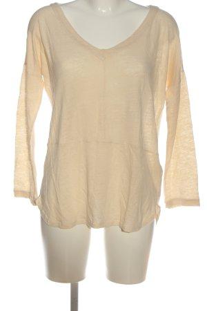 Mus & Bombon Blusa in lino crema stile casual
