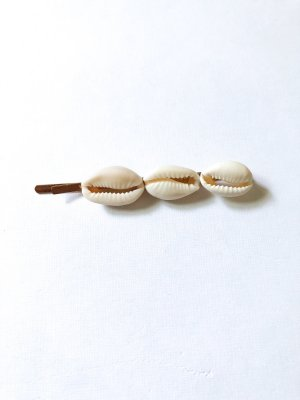 Hair Clip gold-colored-cream