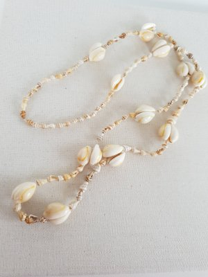 Shell Necklace oatmeal-white