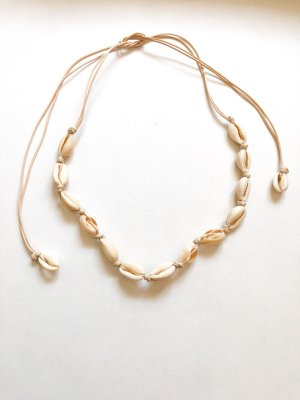 Shell Necklace oatmeal-cream